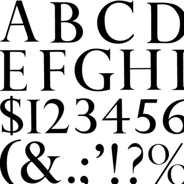 min3000 GRAPHICS グラフィックトレース:PERPETUA TITLING MEDIUM - TYPEFACE (Trace)